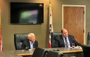 United States Senator Roger Wicker fields questions alongside CCGGA President/CEO Roger Isom